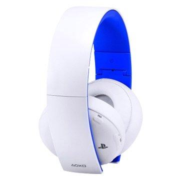 PS4 無線立體聲耳機組-冰河白