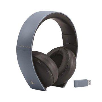 PS4 秘境探險 4:盜賊末路 特仕灰藍 無線耳機