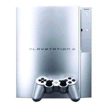 PS3 震動手把(銀)