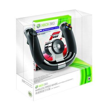 Microsoft 微軟 XBOX360 無線競速方向盤 + Forza 4組合包