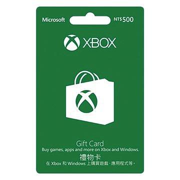 Microsoft 微軟 XBOX360禮物卡$500
