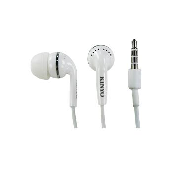 KINYO 金葉 IPEM-61(白)耳塞式耳機麥克風
