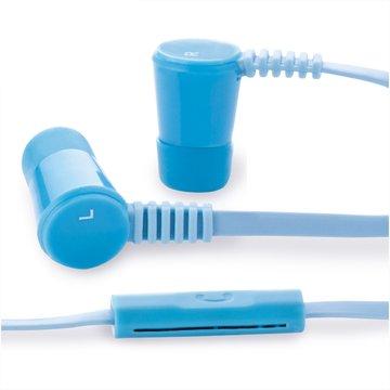 S10 線控接聽入耳式耳機-藍(福利品出清)