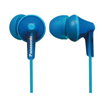 Panasonic手機專用入耳式耳麥TCM125-A藍