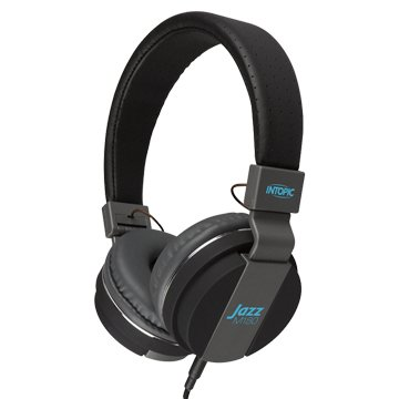INTOPIC 廣鼎 JAZZ-M180-BK摺疊音樂耳機麥克風