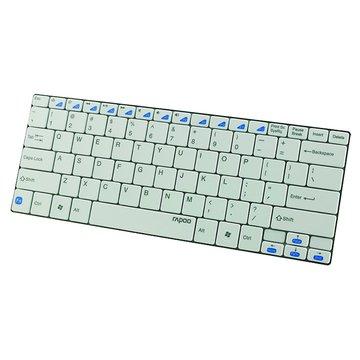 E6100(白)藍芽無線超薄鍵盤(福利品出清)