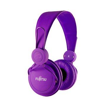 富士通 智慧型手機專用耳機麥克風-紫(福利品出清)