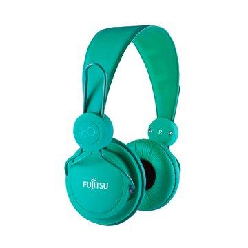 富士通 智慧型手機專用耳機麥克風-綠(福利品出清)