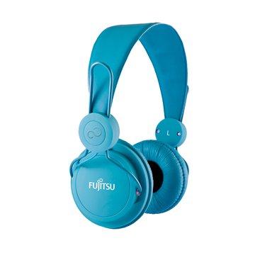 富士通 智慧型手機專用耳機麥克風-藍(福利品出清)