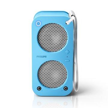 PHILIPS 飛利浦 SB5200A  藍牙攜帶喇叭(粉藍)(福利品出清)