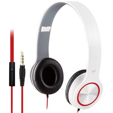 E-books  S13 智慧手機接聽鍵摺疊耳機-白