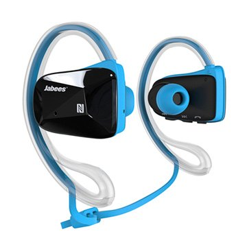 Jabees運動型藍牙耳機Bsport藍