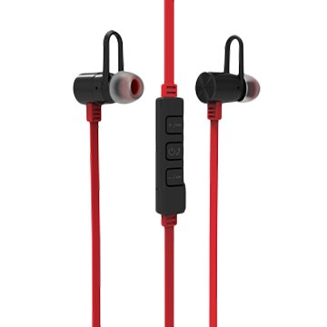 SEEHOT 嘻哈部落 SeeHot運動藍牙耳機052BM紅V4.1 雙待機鋁合