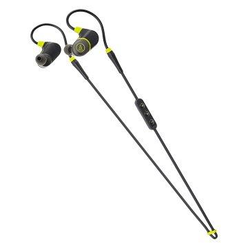audio-technica 鐵三角 鐵三角運動藍芽耳機SPORT4黑