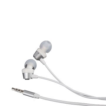 時尚R1/耳塞式耳機麥克風銀色