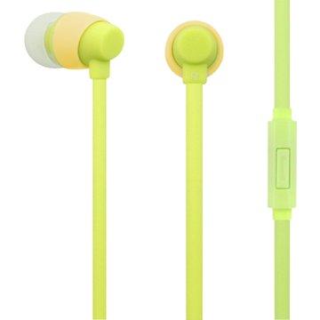 PC Park  EW06 / 智慧型手機用耳塞式耳機 / 綠色