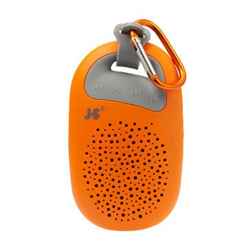JS 淇譽 JY1003 攜帶式藍牙喇叭-橘