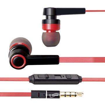 S33 音控接聽入耳式耳機-黑