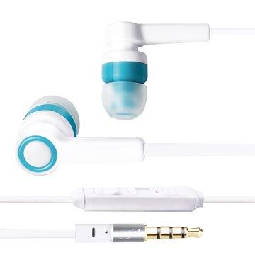 E-books  S33 音控接聽入耳式耳機-白