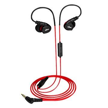 Hawk 鵰族 S300 防水運動型耳機麥克風-紅(福利品出清)