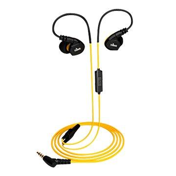 Hawk 鵰族 S300 防水運動型耳機麥克風-黃
