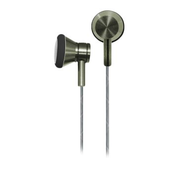 Hawk 鵰族 K211 金屬平耳式耳機麥克風-綠