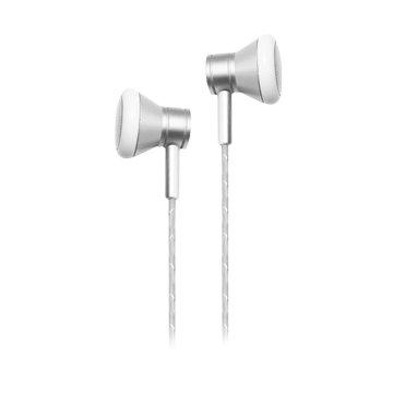 Hawk 鵰族 K211 金屬平耳式耳機麥克風-銀