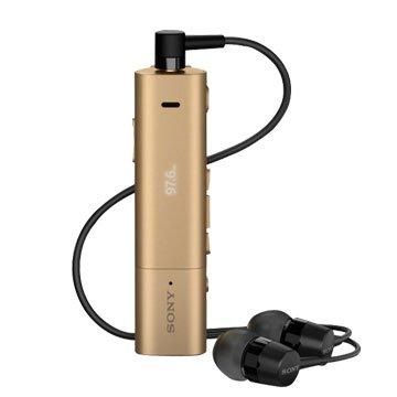 SONY 新力牌 SBH54 雙功能智慧藍芽耳機-金