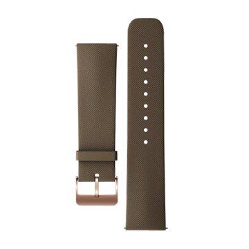 錶帶:ASUS ZenWatch原廠橡膠錶帶 咖啡