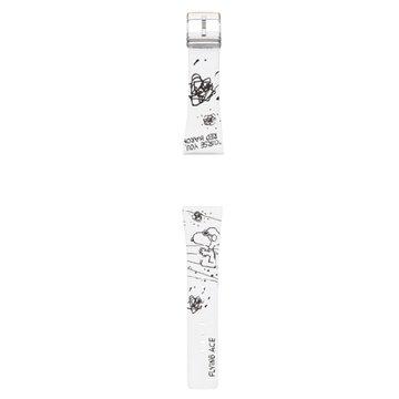 EPSON Smart Canvas 史努比-王牌飛行員錶帶(白)