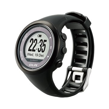 GoWatch 820i 藍芽三鐵運動腕錶-髮絲黑