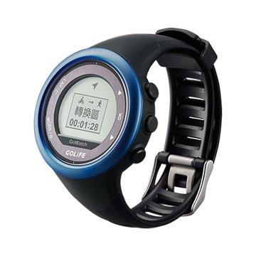 papago 趴趴走 GoWatch 820i 藍芽三鐵運動腕錶-消光藍(福利品出清)