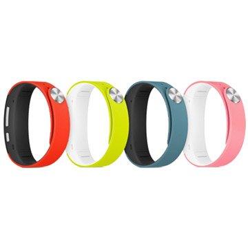 SONY SWR310風格款手環S號(粉紅/萊姆綠)