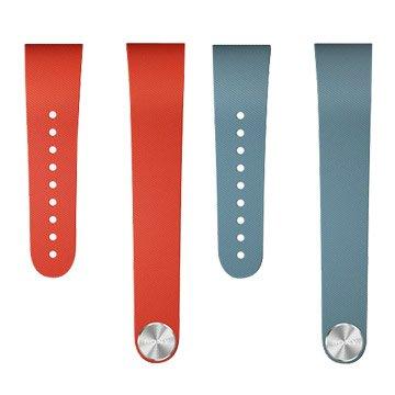 SONY SWR310典雅款手環L號(紅/藍)