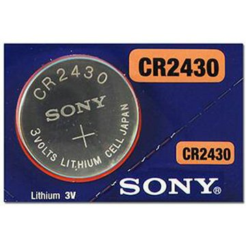 SONY  CR2430 鈕扣型電池