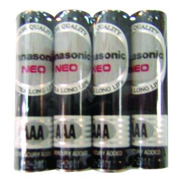 國際牌3號碳鋅電池 4入