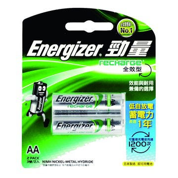 Energizer 勁量 勁量全效型3號2入低自放充電池