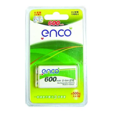 enco 9V鋰電800mAh
