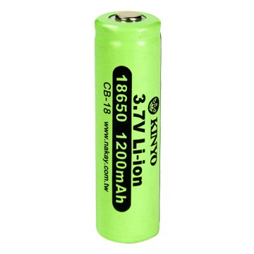 KINYO 18650鋰電池/1200mAh/1入