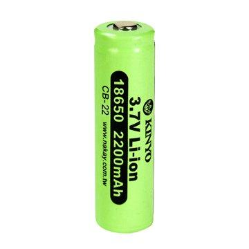 KINYO 18650鋰電池/2200mAh/1入