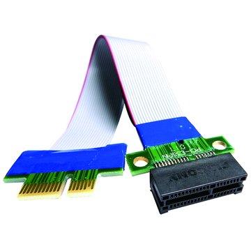 S.C.E 世淇 PCI-E 1X 延長轉接線 20CM
