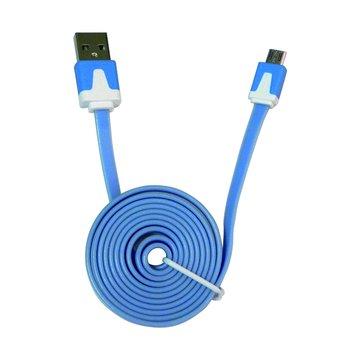 vision 創視 USB A公/Micro USB 1M螢光充電傳輸線