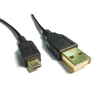S.C.E 世淇 USB2.0 A公/Micro B公 1M黑色鍍金線