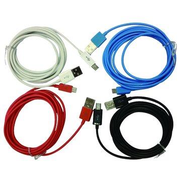 USB 2.0 A公/Micro B公 2M