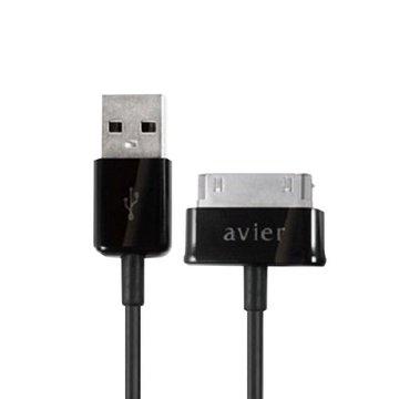 avier  USB A公/SAMSUNG 傳輸充電線1M