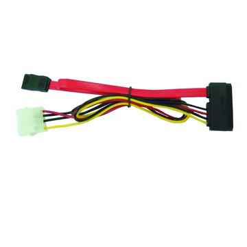 S.C.E 世淇 SATA硬碟線+電源線 二合一 40CM