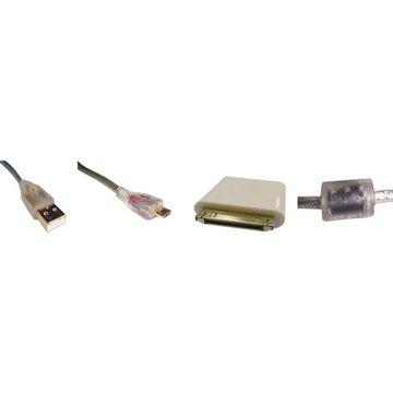 S.C.E 世淇 USB2.0A公/Micro B公+Apple充電兩用組1.8M