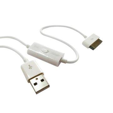 Pro-Best 柏旭佳 USB A公/30Pin手機充電傳輸兩用線