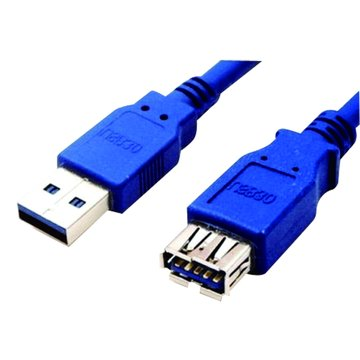 S.C.E 世淇 USB3.0 A公/A母 1M高速傳輸線