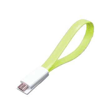 Link All  USB A公/Micro B公 綠 磁性傳輸線